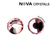 NOVA CRYSTAL STRASSZKŐ - LIGHT ROSE SS8 (2,4 MM)
