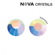 NOVA CRYSTAL STRASSZKŐ - WHITE AB SS8 (2,4 MM)