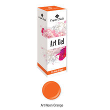 Új! Art Gel sűrű festőzselé - Art Neon Orange (5ml)