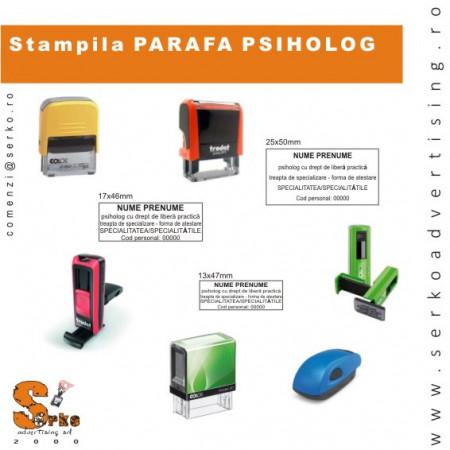 Stampila Parafa Medic