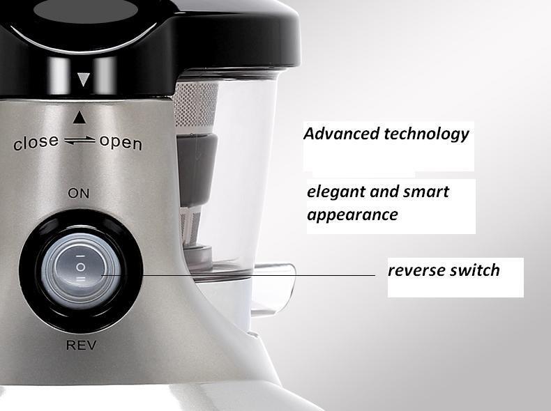 Greenis Slow Juicer Pret : Storcator prin presare la rece Greenis Slow Juicer F9010 BPA FREE Gri- MODELUL NOU