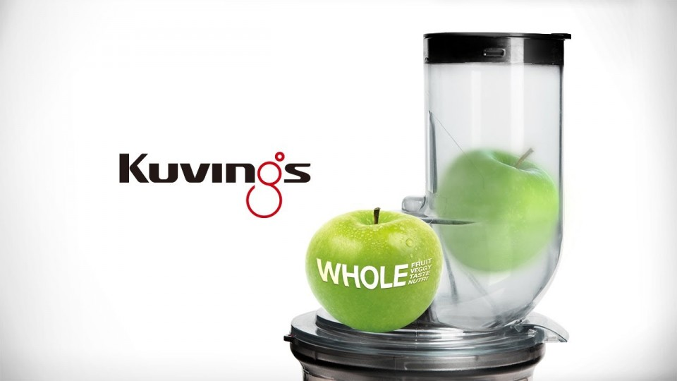 Kuvings Slow Juicer B6000pr : Storcator prin presare la rece Kuvings slow juicer, rosu B6000PR- Recomandat de Carmen Bruma
