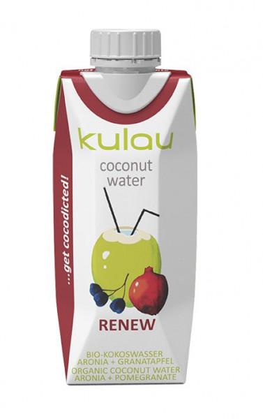 Poze Apa de cocos Renew bio Kulau 330ml