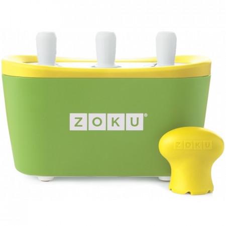 Poze Aparat pentru preparat inghetata instant cu 3 incinte Zoku ZK101-GN Verde