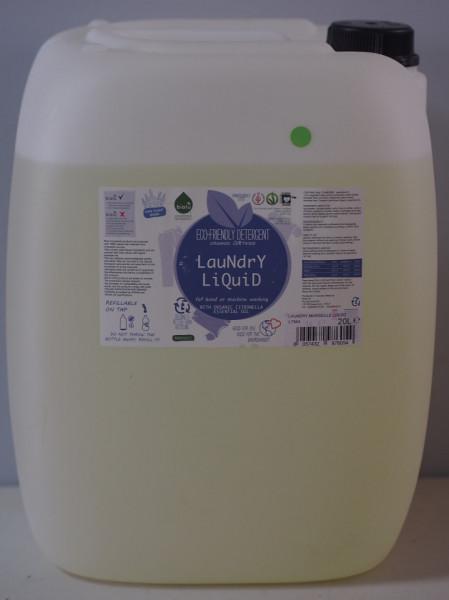 Poze Biolu detergent ecologic vrac pentru rufe albe si colorate lamaie 20L