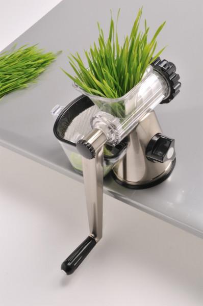 Poze Lexen Healthy Juicer GP27 cromat storcator manual prin presare la rece