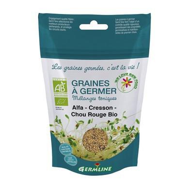 Poze Mix alfalfa creson si varza rosie pt. germinat eco 150g