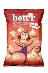 Poze Popcorn cu sare bio 60g Bettr