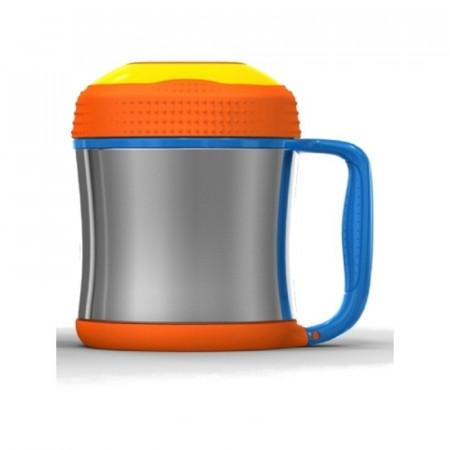 Poze Cana termos pentru copii Contigo Kids Scout Food Jar Portocaliu 300ml