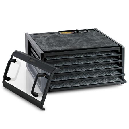 Poze Excalibur Deshidrator negru cu 5 tavi, timer si usa transparenta 4526TBCD