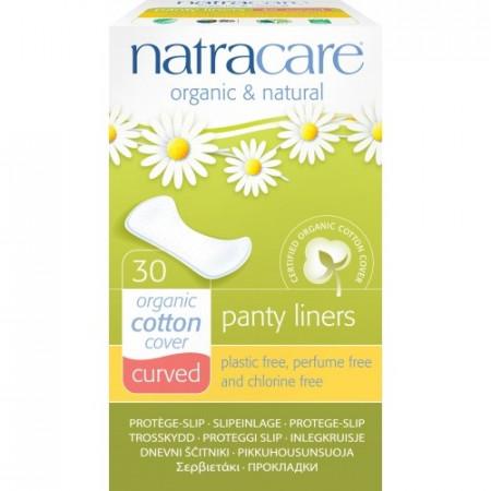 Poze Protej slip organice curbate Natracare 30buc.