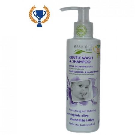 Poze Sampon si gel dus organic pentru copii si bebelusi Essential Care 200ml