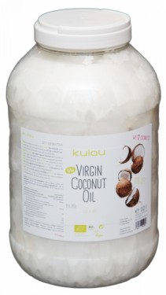 Poze Ulei de cocos raw bio presat la rece Kulau 10L