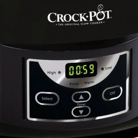 Poze Aparat de gatit Crock Pot slow cooker 4.7 L, Digital, negru