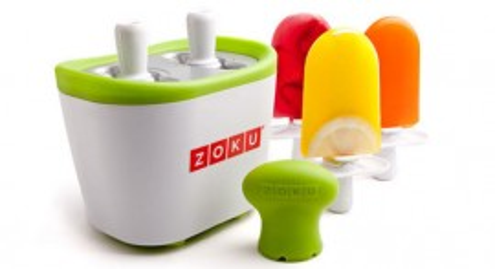 Poze Aparat pentru preparat inghetata instant cu 2 incinte Zoku ZK107 Alb