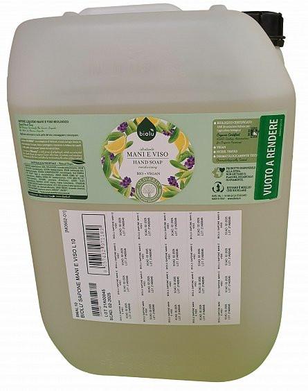 Poze Biolu Sapun lichid ecologic cu lavanda si Vitamina E 10L