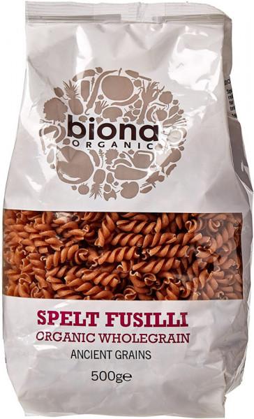 Poze Fusilli din grau spelta integral eco 500g Biona