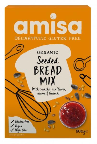 Poze Mix pentru paine fara gluten cu seminte eco 500g