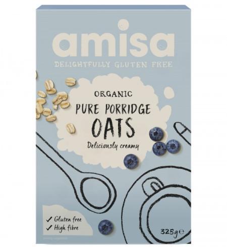 Poze Porridge din ovaz fara gluten eco 325g AMISA
