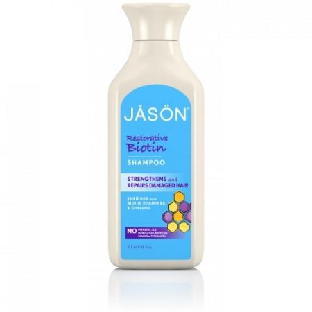 Poze Sampon organic Biotin pt intarire,fire despicate si volum, 473 ml., Jason
