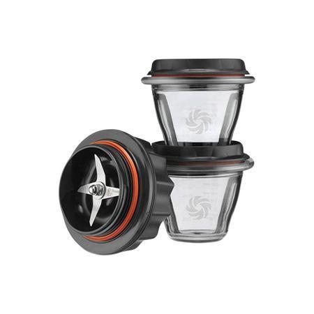 Poze Set 2 boluri de mixare 225ml Vitamix pentru blenderele A2300i, A2500i si A3500i, Tritan, Fara BPA