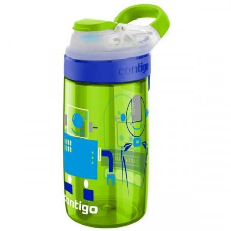 Poze Sticla pentru copii Gizmo Sip Chartreuse Robots, 420ml, Contigo