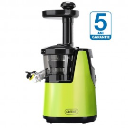 Poze Storcator prin presare la rece Greenis Slow Juicer F9010 BPA FREE Verde- MODELUL NOU