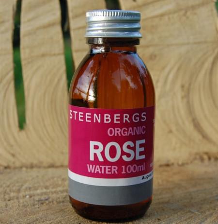 Poze Apa de trandafiri bio Steenbergs 100ml