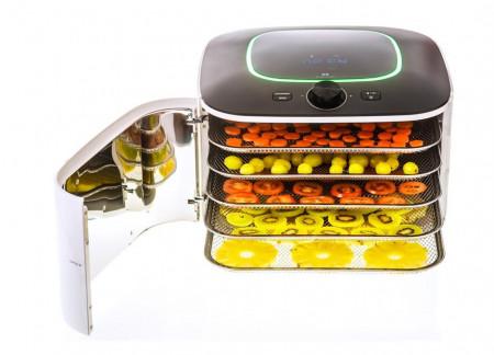 Poze Deshidrator fructe si legume cu 5 tavi din inox cu infrarosu Counter Intelligence IR D5