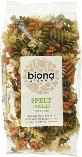 Poze Fusilli din spelta tricolore eco 250g Biona
