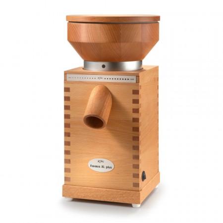 Poze Moara pentru macinat cereale KoMo Fidibus XL Plus, 600 W, Pietre de moara, 200 g/min, Carcasa lemn de fag