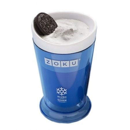 Poze Pahar Zoku ZK113-BL pentru preparare Slush sau Shake, Albastru