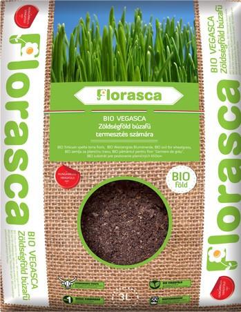 Poze Pamant ecologic pentru iarba de grau si alte plante Florasca 3 litri