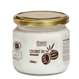 Poze Ulei de cocos virgin bio presat la rece Dragon Superfoods 300ml