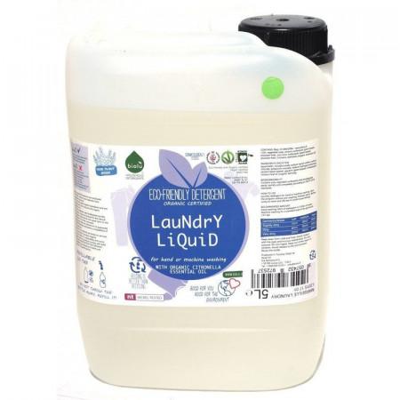 Poze Biolu Detergent ecologic lichid pentru rufe albe si colorate lamaie 5L