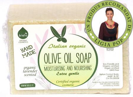 Poze Biolu sapun ecologic cu ulei de masline 140g