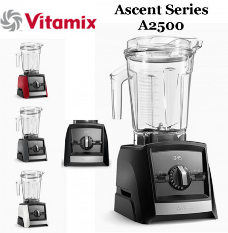 Poze Blender Vitamix A2500i Ascent, 1200 W, 2l, Self-Detect Technology, 3 programe prestabilite, conectare wireless, timer digital