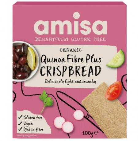 Poze Crispbread (Painici) Cu Quinoa Fibre Plus Fara Gluten Bio 100g