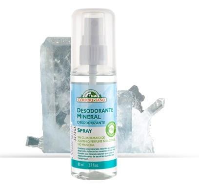 Poze Deodorant mineral spray cu alaun Corpore Sano, 80 ml