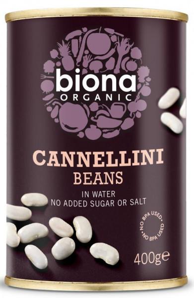 Poze Fasole alba Cannellini bio 400g Biona