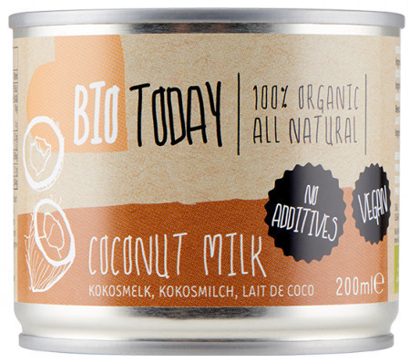 Poze Lapte de cocos bio 200ml Bio Today