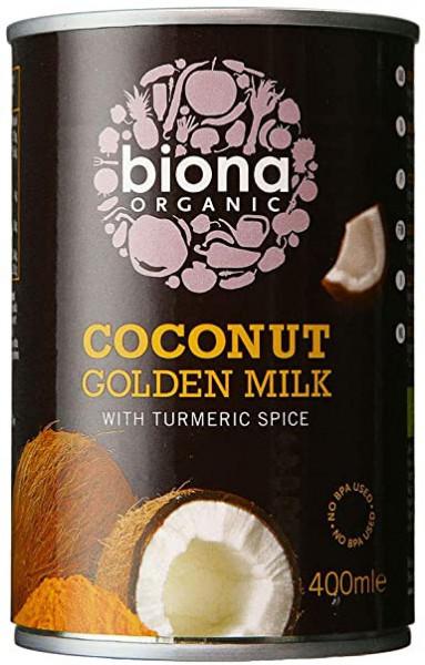 Poze Lapte De Cocos Cu Turmeric Eco 400ml Biona