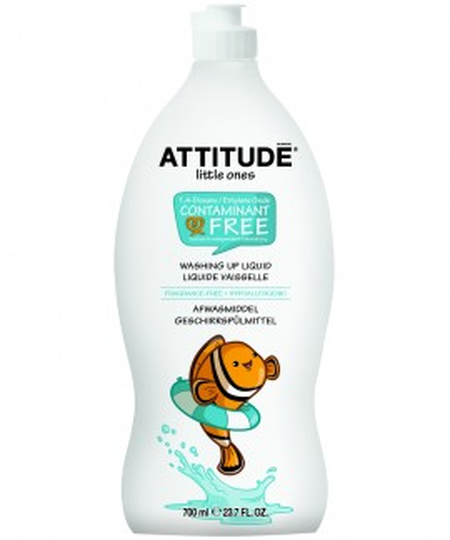 Poze Lichid de spalat vase si biberoane, fara parfum Attitude 700 ml