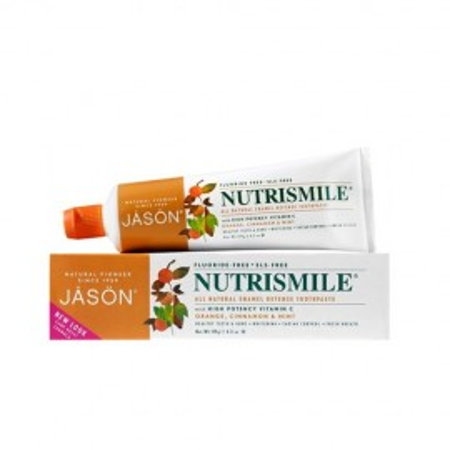 Poze Pasta de dinti organica Nutrismile, pentru prevenirea tartrului si cariilor, Jason 120g