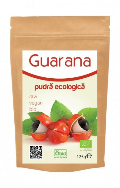 Poze Pudra de guarana organica raw 125g