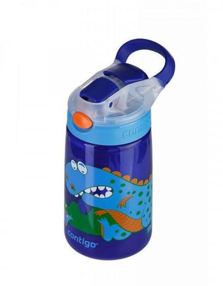 Poze Sticla pentru copii Gizmo Flip Sapphire dinosaur, 420ml, Contigo