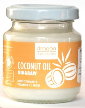 Poze Ulei de cocos virgin bio presat la rece Dragon Superfoods 100ml
