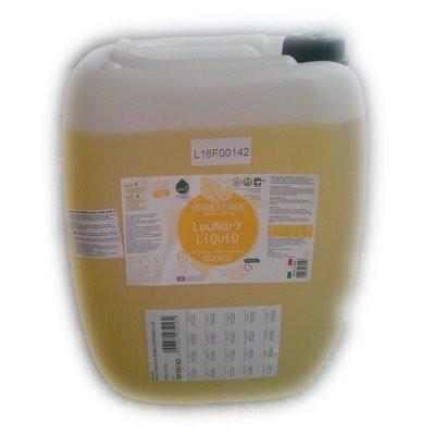 Poze Biolu Detergent ecologic lichid pentru rufe albe si colorate portocale 20L