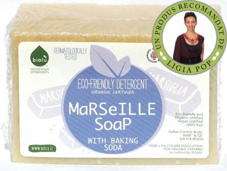 Poze Biolu Sapun de Marsilia ecologic 140g