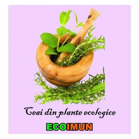Poze Ceai din plante ecologice pentru imunitate Ecoimun 150g